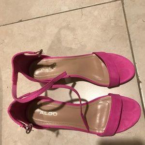Aldo Shoes - Aldo pink heels